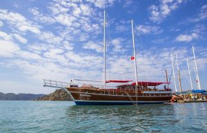 The Kasapoğlu - gulet cruises Yachting in Turkey cruises from Kekova Kas Fethiye