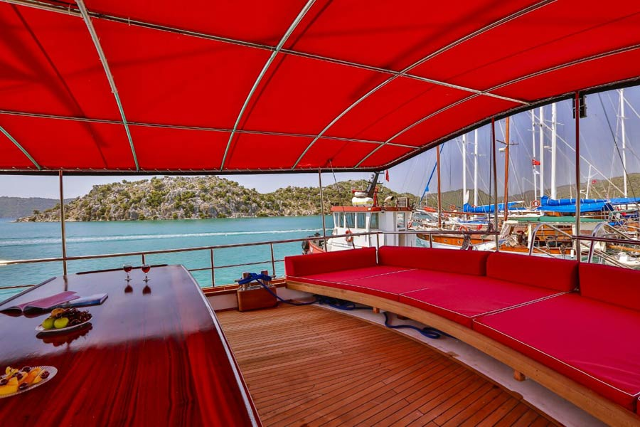The Kasapoğlu - gulet cruises Yachting in Turkey cruises from Kekova Kas Fethiye