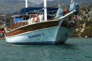 The Kasapoğlu II - gulet cruises Yachting in Turkey cruises from Kekova Kas Fethiye
