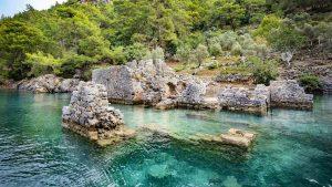 Cleopatras bath Gulet Cruise Turkey