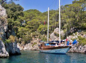 Blue Cruise in Turkey on a gulet in Kekova