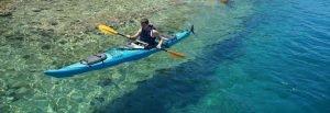 Sea-kayak on a Blue Cruise