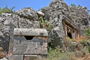 Lycian tombs gulet cruise