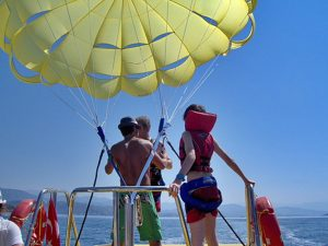 Parascending in Turkey