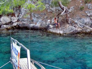 Rope swing