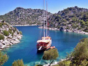 Gulet cruise in Turkey Kaspoğlu Yachting