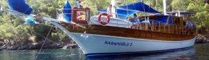 Gulet Yacht in kekova Turkey Kasapoglu 2