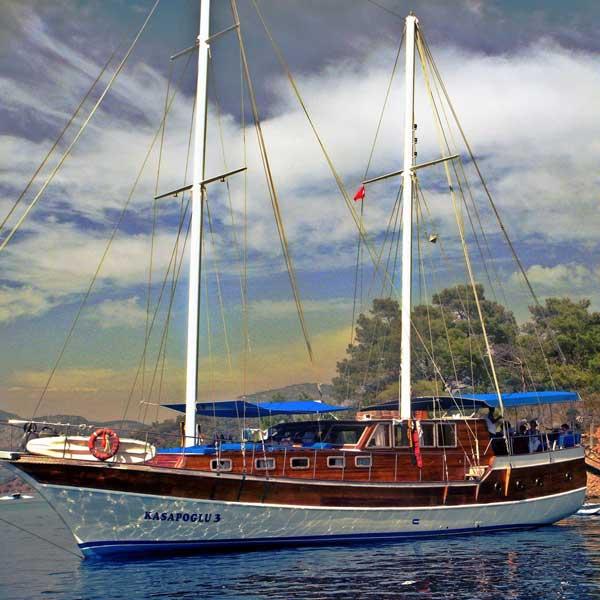 The Kasapoğlu III gulet yacht Turkey