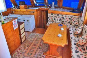 The Kasapoğlu III gulet yacht Turkey salon