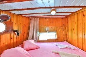 The Kasapoğlu III gulet yacht Turkey cabin