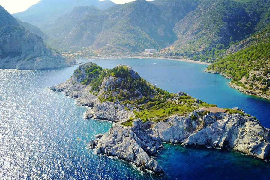 Ciftlik Bay, Marmaris Datca Peninsula