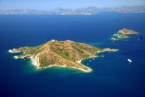 Domuz Island Fethiye Oludeniz Bay