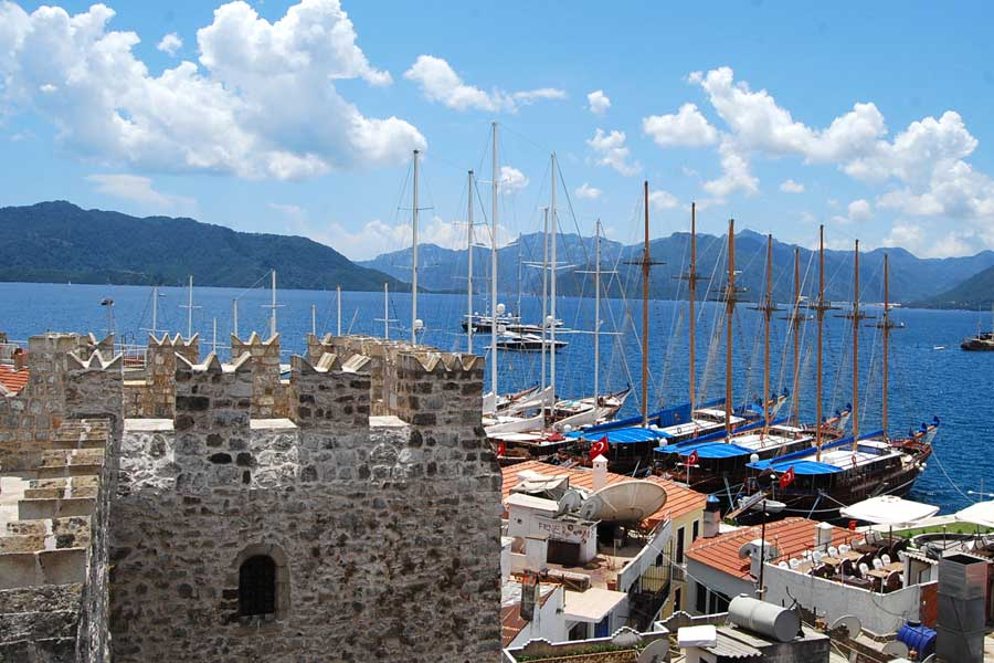 Marmaris Castle with panoramic views