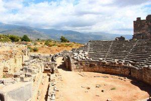 Lycian ruins at Xanthos