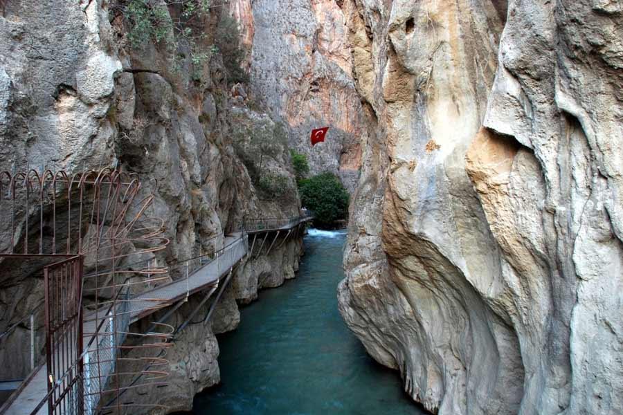 Saklikent Gorge Turkey
