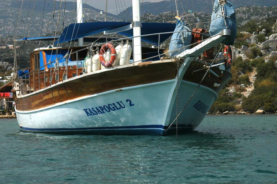 The Kasapoglu II gulet yacht Turkey