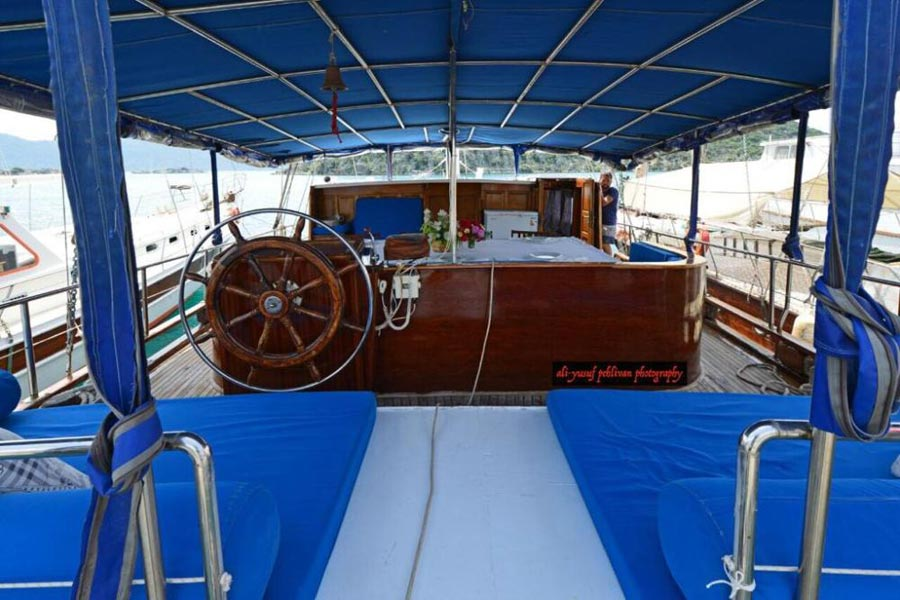 The Kasapoglu II gulet yacht Turkey 11