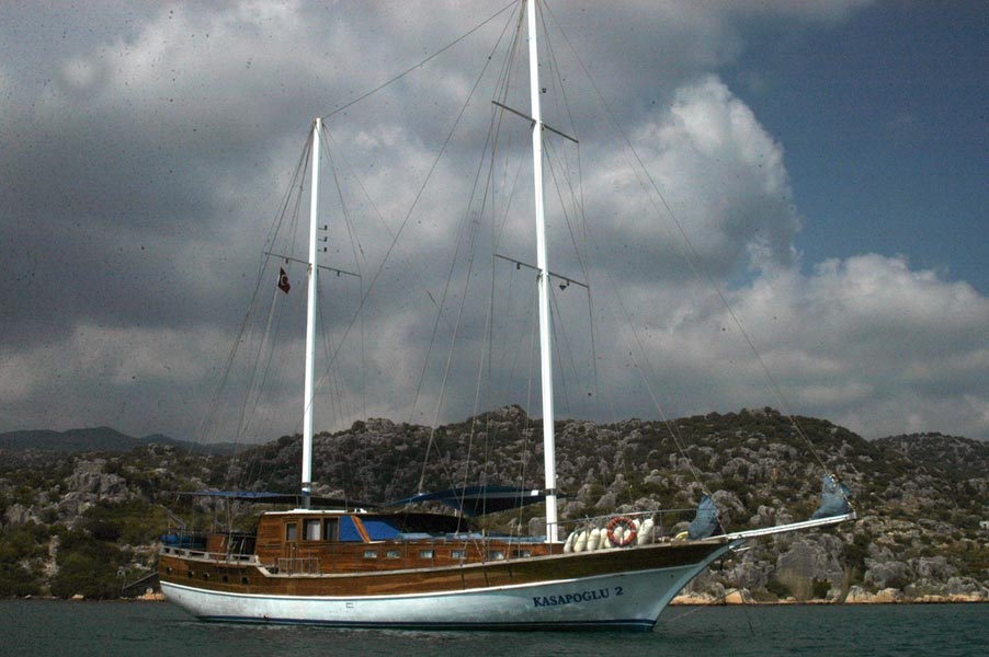 The Kasapoglu II gulet yacht Turkey 15