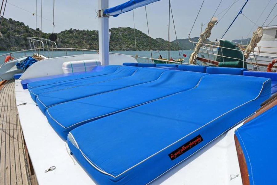 The Kasapoglu II gulet yacht Turkey 2