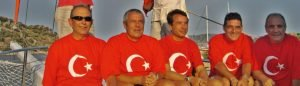 Crew of Kasapoglu Gulet Yacht Turkey