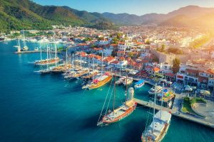 Marmaris is a busy town with a vibrant nightlife